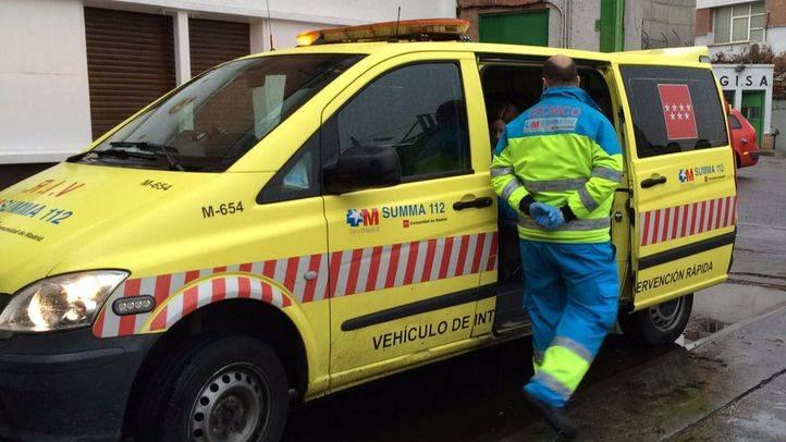 Herido muy grave un motorista al impactar contra un turismo en Fuenlabrada