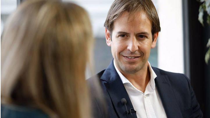 Entrevista a Cristiano Brown, portavoz nacional de UPyD, en la Terraza de Gran Vía.