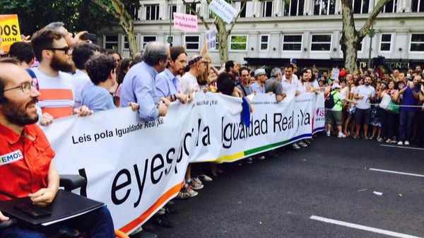 Los organizadores del Orgullo aún no saben si la presidenta irá a la marcha del sábado