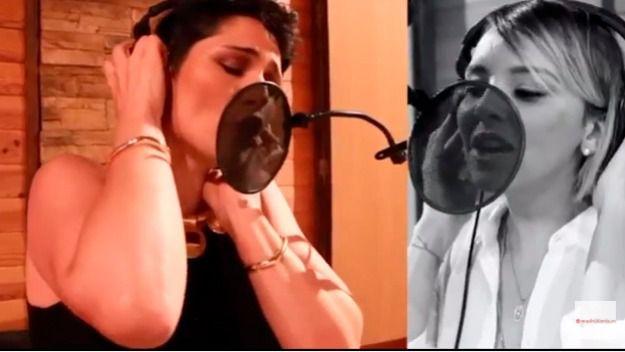 Rosa López y Chenoa en un frame del videoclip del himno del World Pride, 'A quién le importa'