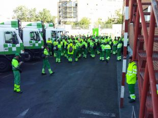 Retrasos en la recogida de basuras de varios distritos de Madrid