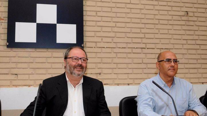 Javier Barbero y Andrés Serrano en una imagen de archivo.