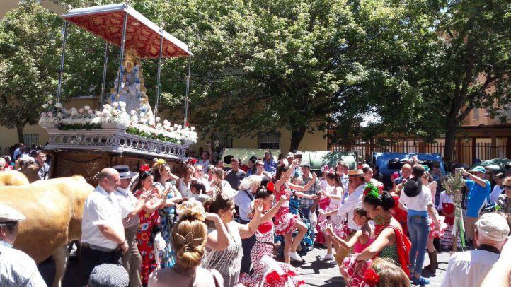 Jinetes y carretas participarán en la XXXII Romería Rociera al Cerro de Los Ángeles