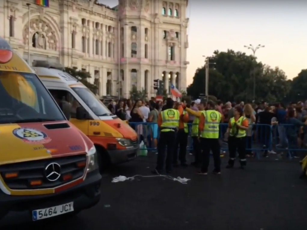 El Samur atiende a 270 personas durante la manifestación del Orgullo