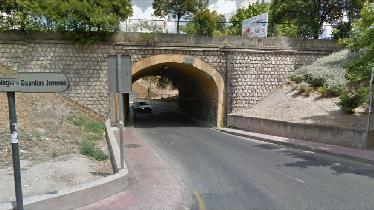 Túneles bajo la A-4 en Valdemoro