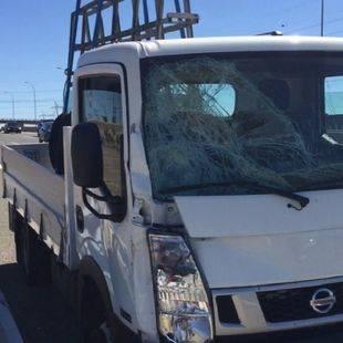 Muere un guardia civil arrollado por una furgoneta en la A-1