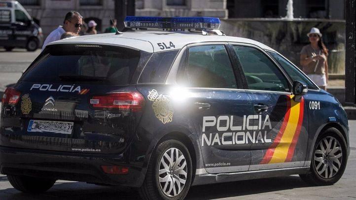 Foto de archivo de un coche de la Policía Nacional.