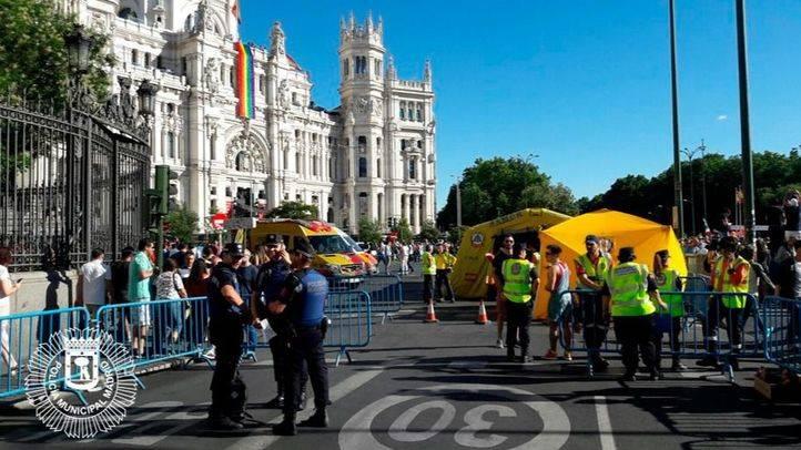 Una veintena de detenciones durante el Orgullo; seis, por delitos de LGTBfobia