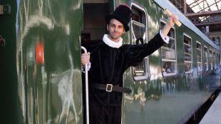 Regresa el tren de Felipe II para visitar San Lorenzo de El Escorial