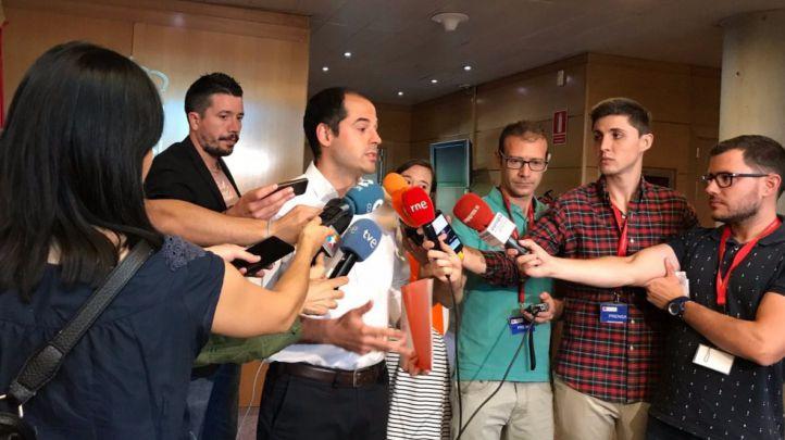 Aguado ha presentado la iniciativa en el registro de la Asamblea