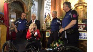 Recuperada la bicicleta robada de la atleta paralímpica