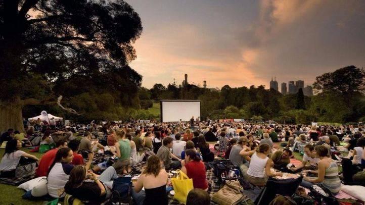 Cines descapotados a la luz de la luna en Madrid