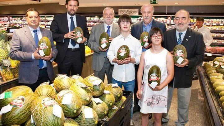 """El Corte Inglés apoya a Down España con la venta de un """"melón solidario"""" en sus centros"""