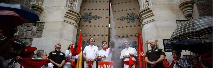 Madrid celebra San Fermín con el tradicional chupinazo
