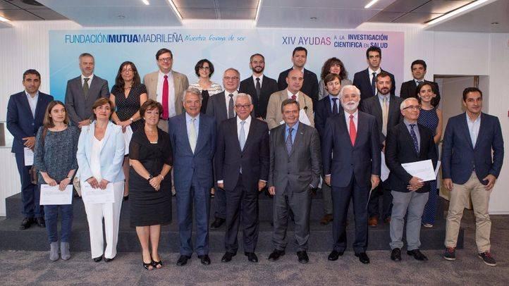 Acto de entrega de las ayudas a la investigación de la Fundación Mutua Madrileña