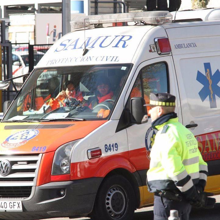 Ambulancia Samur.