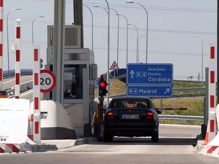 Fomento sacará de nuevo a concurso en 2018 las autopistas rescatadas