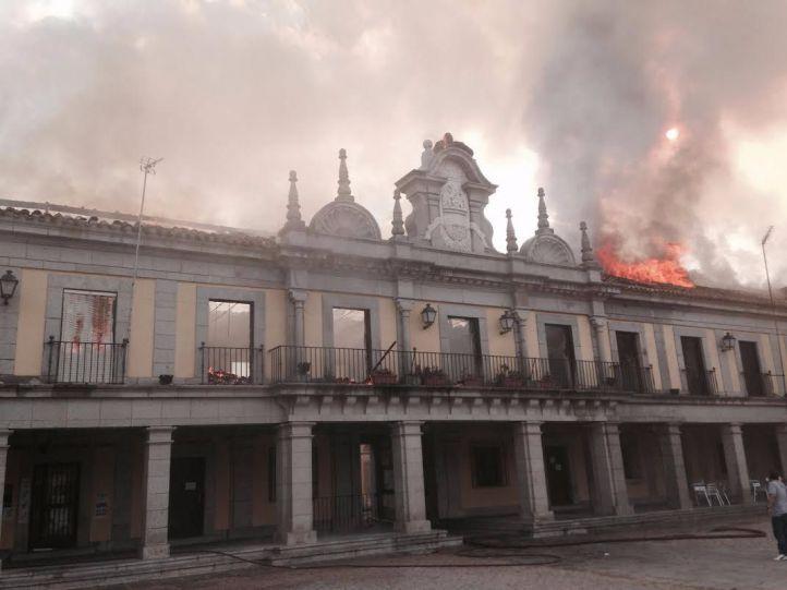 La restauración de la Plaza Mayor de Brunete estará lista en la primavera de 2018