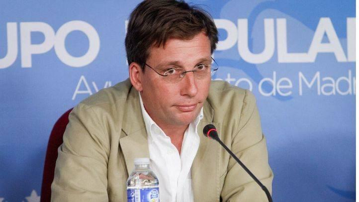 Foto de archivo: José Luis Martínez-Almeida, nuevo portavoz del grupo municipal popular en el Ayuntamiento de Madrid.