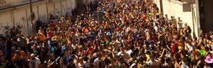 La Batalla Naval vallecana se reivindica como puerto de acogida de refugiados