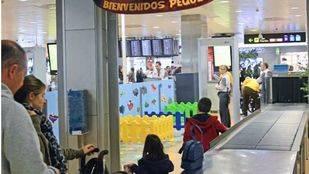 Filtros de seguridad del aeropuerto