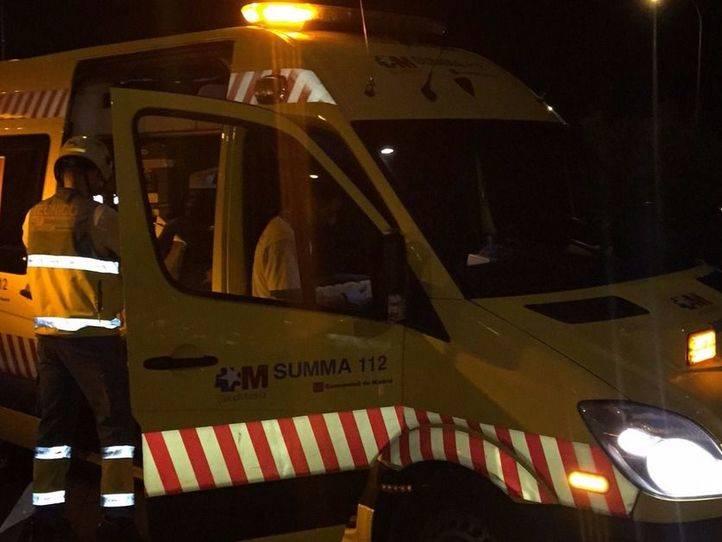 Dos personas muertas y tres heridas en un accidente de tráfico en San Sebastián de los Reyes