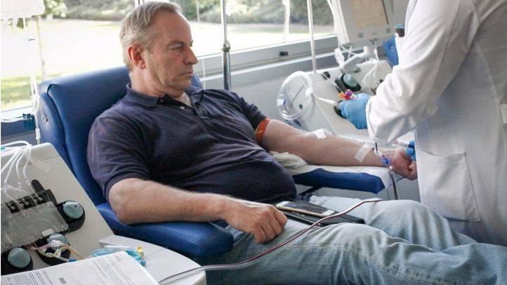 Centro de transfusiones de la Comunidad de Madrid.