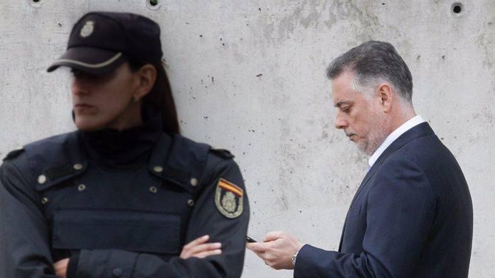 Alberto López Viejo entrando a la Audiencia Nacional.