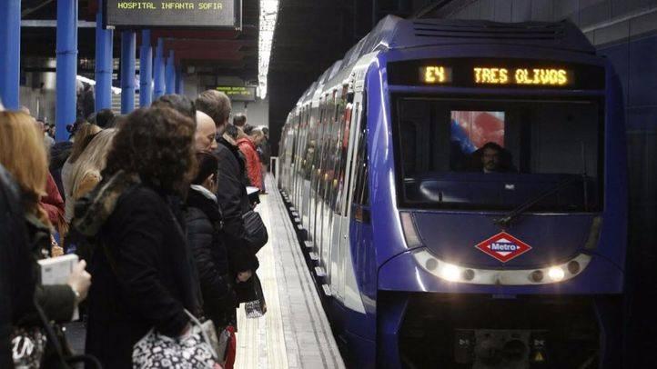 Crecen un 6,1 % los usuarios de Metro en mayo, hasta superar los 55 millones