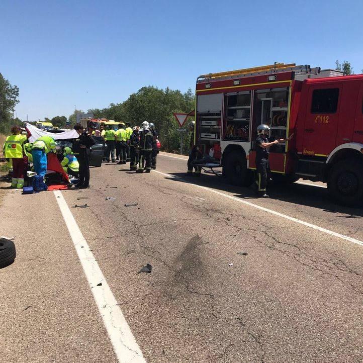 Dos heridos en un accidente múltiple en Soto del Real