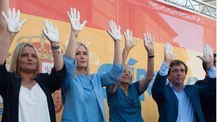 Triple petición pública para que Carmena cuelgue en Cibeles la imagen de Miguel Ángel Blanco