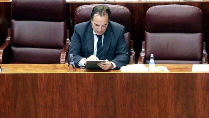 Jaime González Taboada, consejero de Medio Ambiente y Ordenación del Territorio de la Comunidad de Madrid. (Archivo)