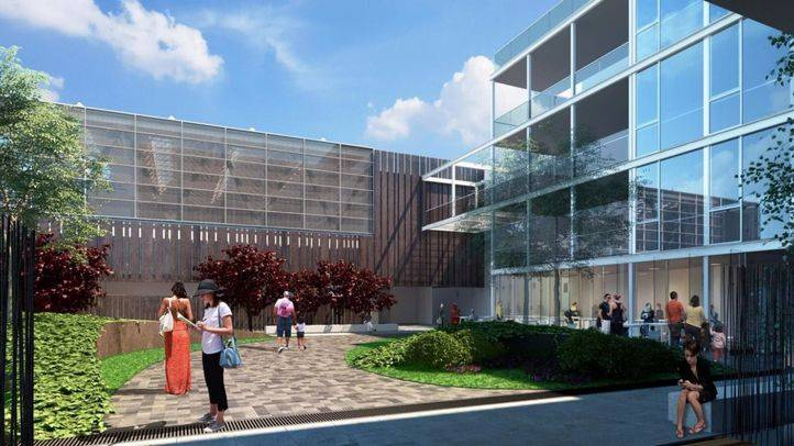 Piscina, escuela infantil y aparcamiento: así será el centro dotacional que el Barrio de las Letras estrenará en 2020