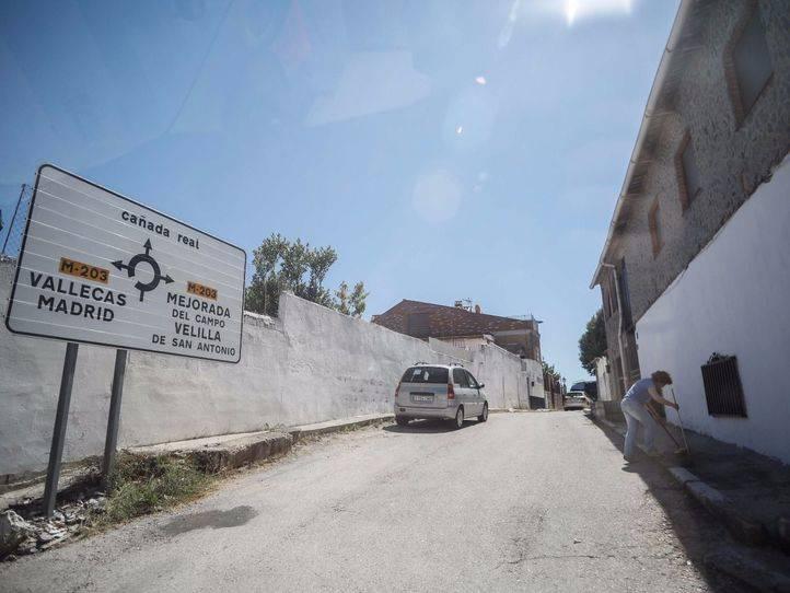 Desencaje de bolillos en la Cañada más real