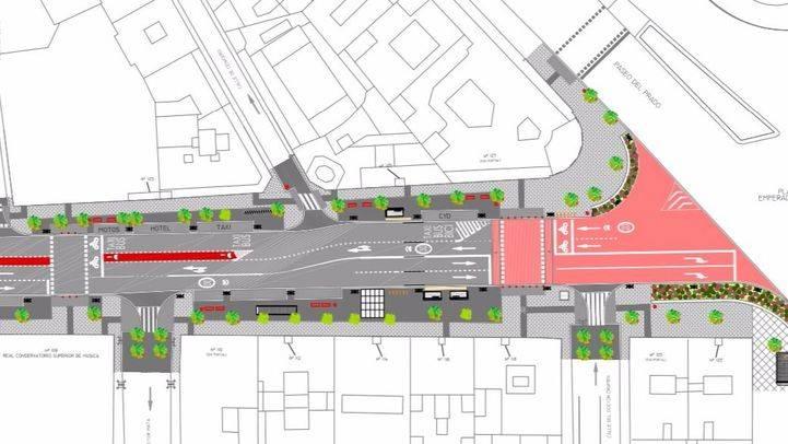 Planos de la futura calle Atocha.