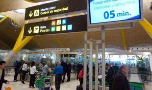 Controles de seguridad del aeropuerto