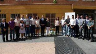 Calcinada la ofrenda del homenaje a Miguel Ángel Blanco en Getafe