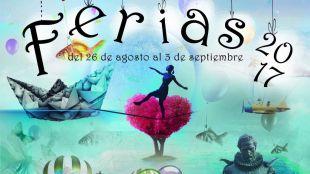 Cartel de las Ferias 2017 de Alcalá de Henares.