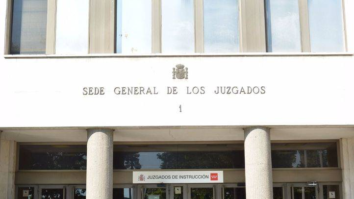 Juzgados de Plaza Castilla. (Archivo)
