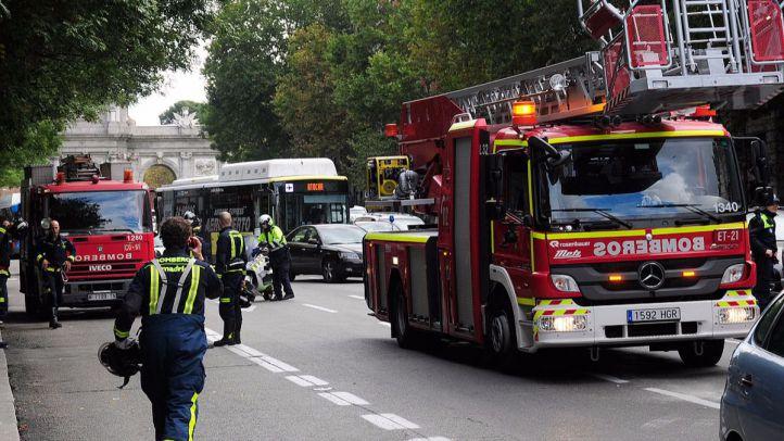 Paros en las guardias de los bomberos madrileños