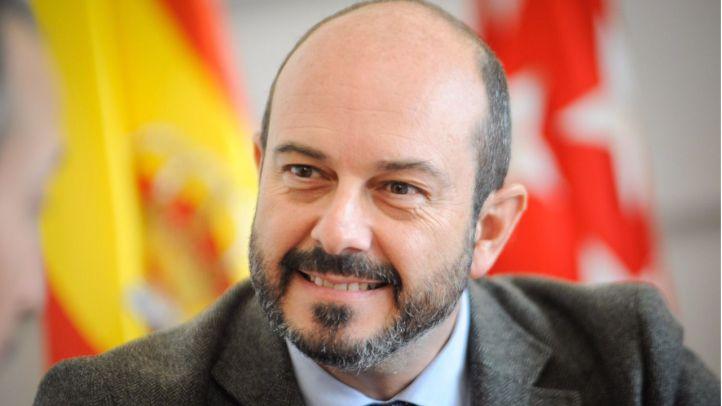 Pedro Rollán, consejero de Transportes, Vivienda e Infraestructura de la Comunidad de Madrid.
