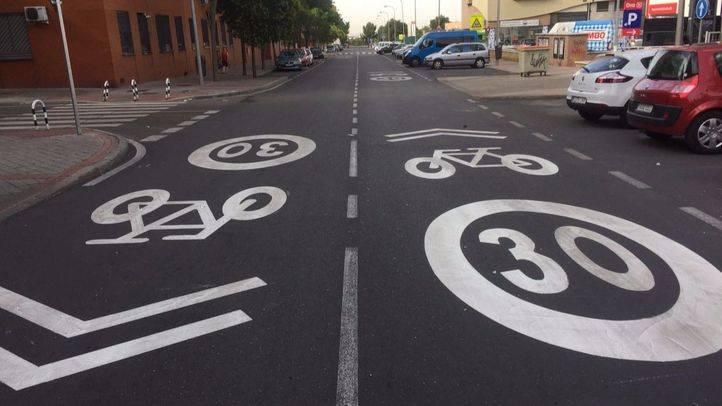 Vicálvaro tendrá tres tipos de itinerarios ciclistas