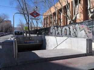 Cambiar el nombre a la estación García Noblejas no es