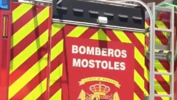 Camión de bomberos de Móstoles