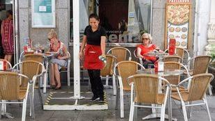 La recaudación por la tasa de terrazas cae en todos los distritos menos en Salamanca, Retiro y Chamartín