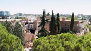 Los vecinos piden medidas para evitar el derrumbe del Convento de las Damas Apostólicas, afectado por las lluvias