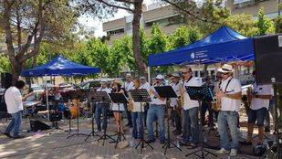 Banda de música en Pozuelo