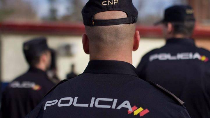 Foto de archivo de un Policía Nacional.
