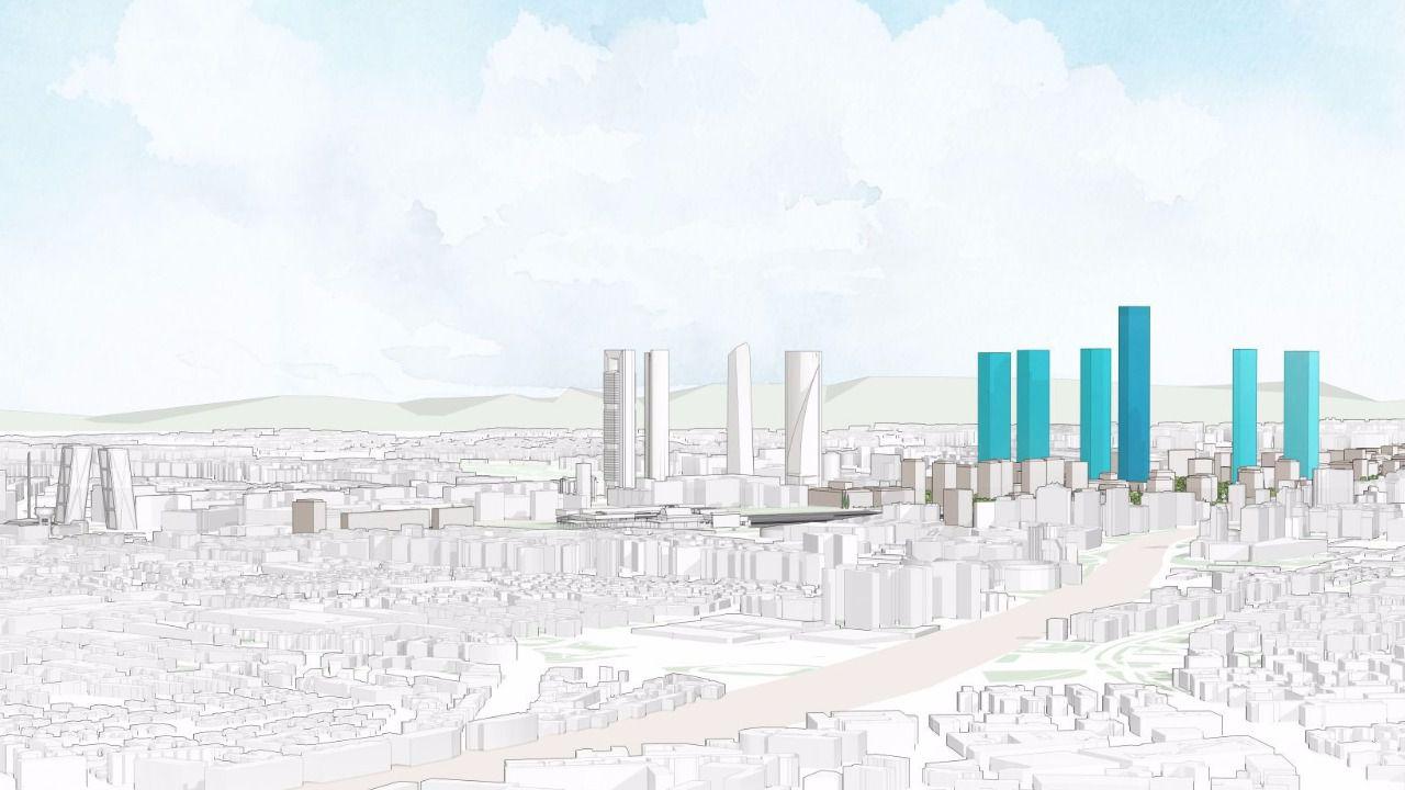 El proyecto para el norte de Madrid, a una firma