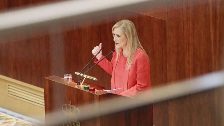 Intervención de Cristina Cifuentes, presidenta de la Comunidad de Madrid, en el segundo día del último Debate del estado de la región.